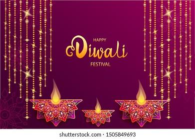 Happy Diwali Festival \u002F Festival of lights