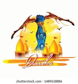 Happy Dussehra festival of India