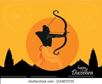 happy Dussehra. Ravan Dussehra is a major Hindu festival celebrated at the end of Navratri