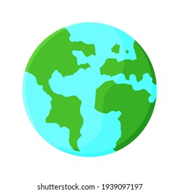 Happy Earth Day illustration. Vector. Isolated. Flat design.
