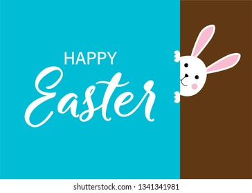 Happy Easter. Easter Bunny
