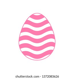 Happy Easter colorful egs. Vector illustration.