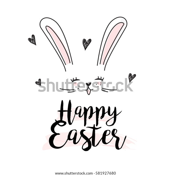 Happy Easter cute Background