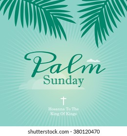 Palm sunday images stock photos vectors shutterstock happy easter day greetings church poster with abstract background design and text easter celebration m4hsunfo