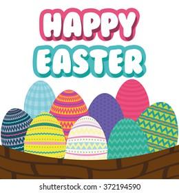 Happy Easter design
