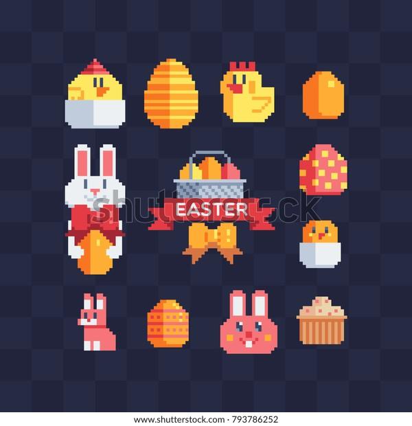 Image Vectorielle De Stock De Conception De Joyeuses Pâques