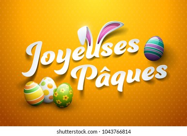 Happy Easter in French : Joyeuses Pâques