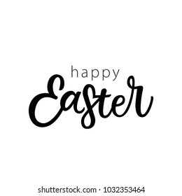 HAPPY EASTER | GREETING LETTERING