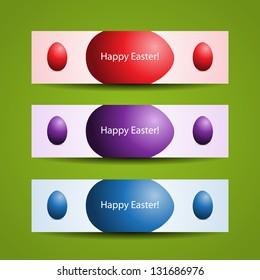 Happy Easter header designs