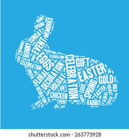 Happy Easter style card