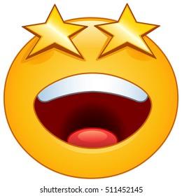 Bilder Stockfoton Och Vektorer Med Fan Emoji Shutterstock