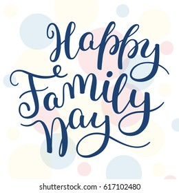 Royalty Free Background Banner Family Day Images Stock Photos