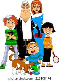 meet a jewish family