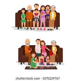 Images Photos Et Images Vectorielles De Stock De Famille