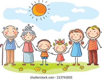 Cartoon Family Images Stock Photos Vectors Shutterstock