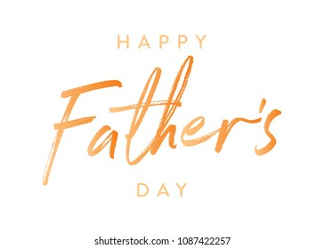 Happy Father's Day Appreciation Vector Text, Father's Day Background, Father's Day Banner, Banner Background for Posters, Flyers, Marketing, Greeting Cards