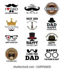 Happy Father's Day Greeting Card Collection, I Love My DAD.