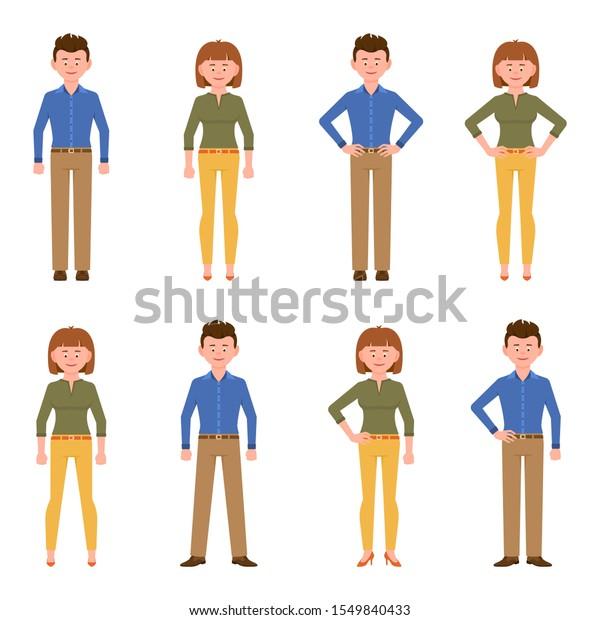 Vector De Stock Libre De Regalias Sobre Feliz Y Simpatico Hombre De Oficina1549840433