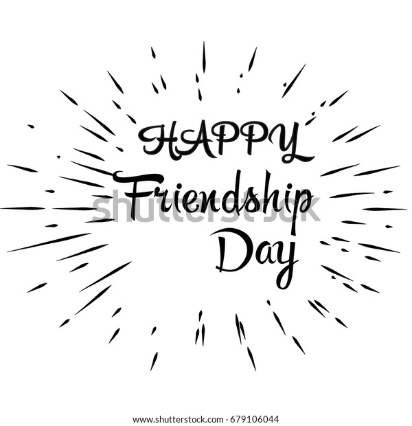 vector de stock libre de regalias sobre happy friendship day