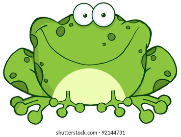 cartoon frog images stock photos vectors shutterstock rh shutterstock com Frog Graphics funny frog cartoon clipart