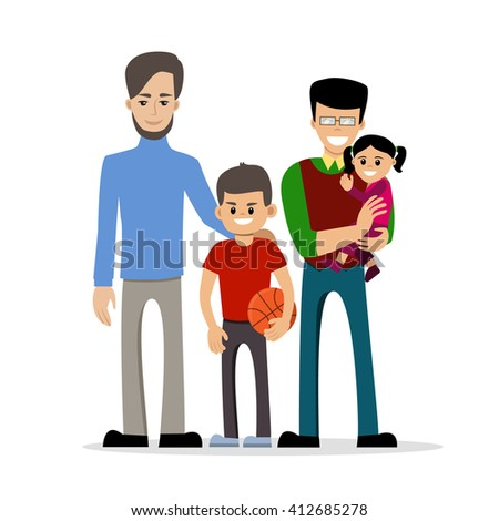 Father son gay cartoon