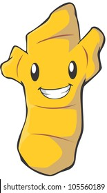 Happy Ginger Illustration