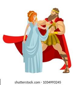 happy greek couple