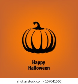 Happy halloween background greeting card