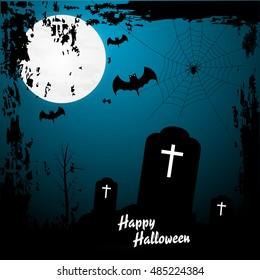 Happy halloween background ,happy halloween vector .