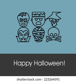 Happy Halloween Funny Greeting Card
