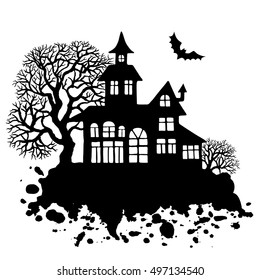 1000 Cartoon Haunted House Stock Images Photos Vectors