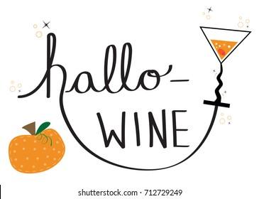Happy Halloween Hallo Wine