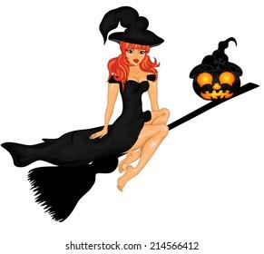 Happy Halloween Poster. Vector illustration.Halloween banner .