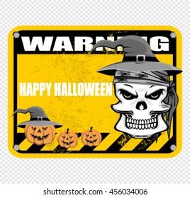happy halloween, sign