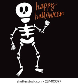 Halloween Skeleton Images, Stock Photos & Vectors | Shutterstock
