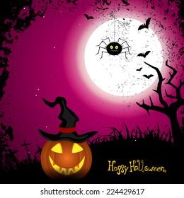 Happy Halloween - vector