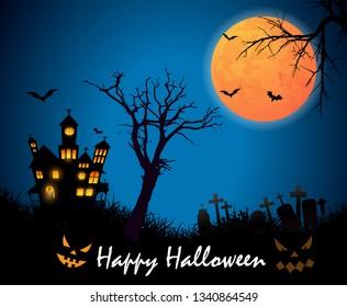 Happy Halloween Vector Art Download - Vector