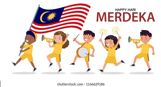 Hari Merdeka Images Stock Photos Vectors Shutterstock