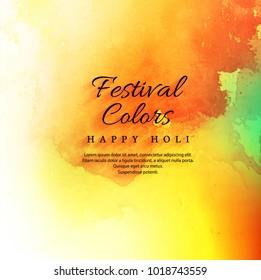 Happy holi festival celebration colorful background