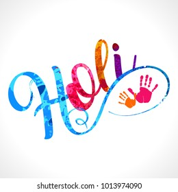 Happy Holi Vector Elements For Card Design