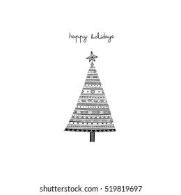 Ukrainian Christmas.Ukrainian Christmas Tree Stock Illustrations Images