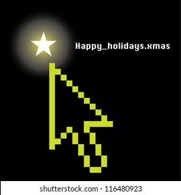 Happy Holidays Mouse Pointer