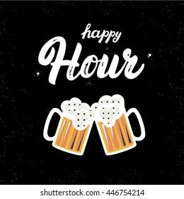 Happy Hour Quotes Stock Vectors, Images & Vector Art ...
