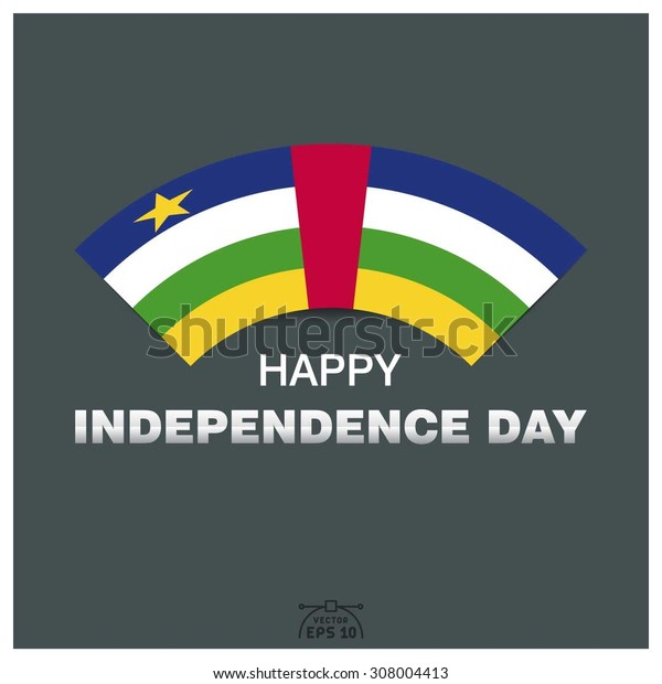 Happy independence day of Central African Republic