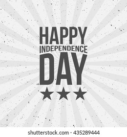 Happy Independence Day festive Text