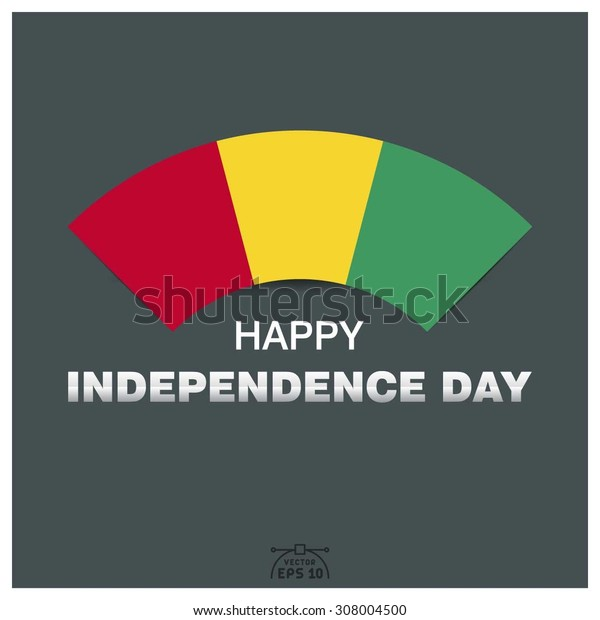 Happy independence day of Guinea