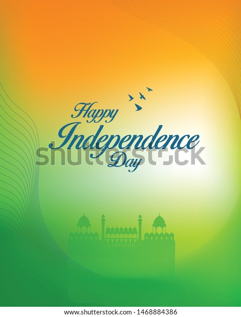Independence Day.Happy Independence Day India Vector Stock Vector Royalty Free