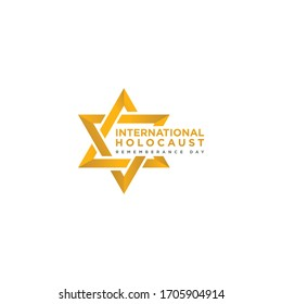Happy Independence day israel holocaust vector