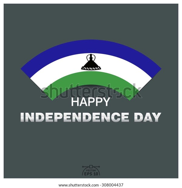 Happy independence day of Kingdom of Lesotho