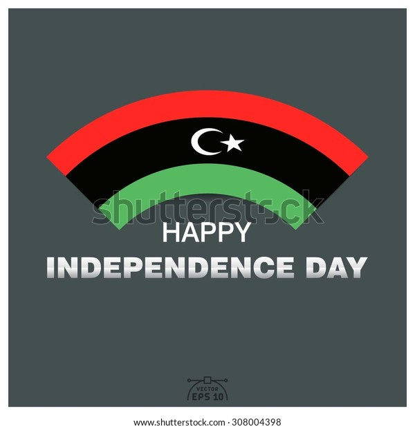 Happy independence day of Libya